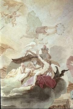 Ausschnitt: Mars, Cronos und Zeus, Aufn. Schmidt-Glassner, Helga, 1943/1945