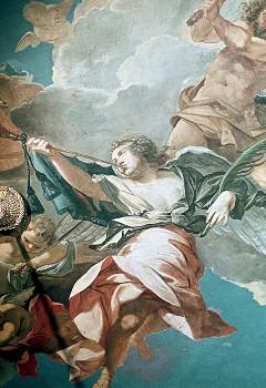 Ausschnitt, Engel mit Trompete, Aufn. Cürlis, Peter, 1943
