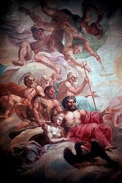 Ausschnitt, die Götter im Olymp, Aufn. Cürlis, Peter, 1943