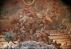 Ausschnitt, südliche Deckenzone, Allegorie des Friedens (?), Aufn. Cürlis, Peter, 1943