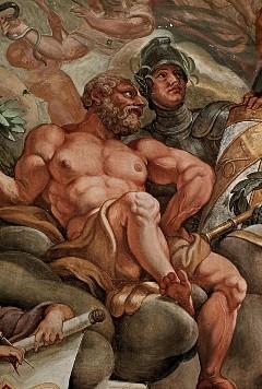 Westliche Deckenzone, Gigant und Krieger, Aufn. Cürlis, Peter, 1943
