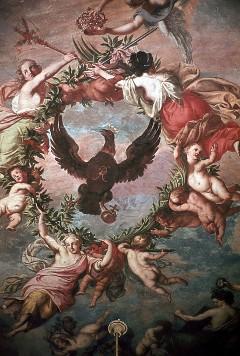 Östliche Hälfte: Verherrlichung des Schwarzen Adlers, Aufn. Cürlis, Peter, 1943