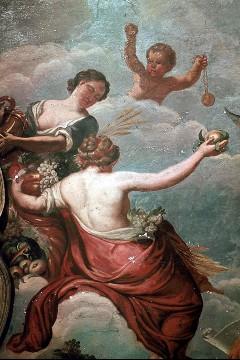 Götterreigen, Ausschnitt: Göttinnen der Fruchtbarkeit, Aufn. Cürlis, Peter, 1943