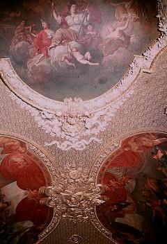 Deckenansicht mit dem mittleren und den westlichen Bildfeldern, Aufn. Cürlis, Peter, 1943