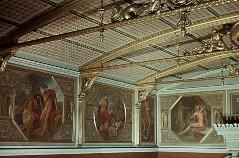 Teilansicht der Wandmalereien, Aufn. Cürlis, Otto, 1943/1945