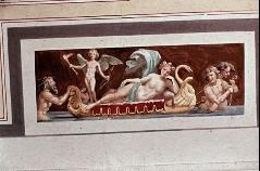 Ausschnitt, Tritonen ziehen ein Boot mit Venus und Cupido, Aufn. Cürlis, Otto, 1943/1945