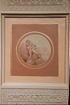 Deckenbild: Allegorie der Liebe, Aufn. Müller und Sohn, 1943/1945