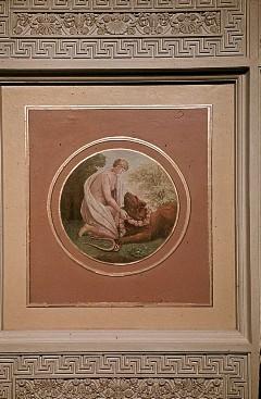Deckenbild: Allegorie der Sanftmut, Aufn. Müller und Sohn, 1943/1945
