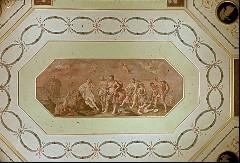 Decke, Mittelbild: Bacchus und Ariadne (nach Guido Reni), Aufn. Müller und Sohn, 1943/1945