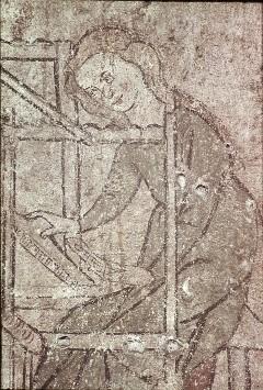 Ausschnitt: Frau am Webstuhl, Aufn. Müller und Sohn, 1943/1945