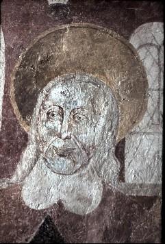 Ausschnitt: Gesicht des Apostels, Aufn. Schulze-Marburg, Rudolf, 1943/1944