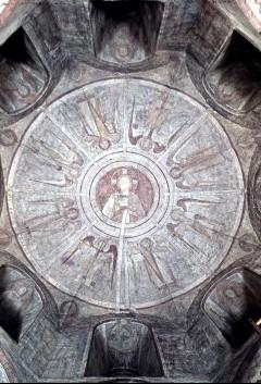 Oktogongewölbe: Christus mit Engeln und den vierundzwanzig Ältesten, Aufn. Müller und Sohn, 1943/1945