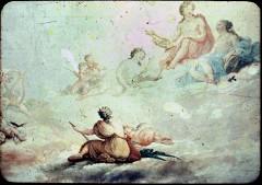 Ausschnitt: Apollo mit Euterpe und Urania, unten Erato, Aufn. Cürlis, Peter, 1943/1945