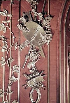 Detail: Malerwerkzeuge am rechten Paneel der Südwestwand, Aufn. Cürlis, Peter, 1943/1945