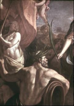 Ausschnitt: Teil des Gefolges unten links, Aufn. Cürlis, Peter Cürlis, Peter, 1943
