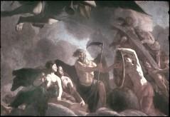 Ausschnitt: Vater Zeit zeigt auf den brandenburgischen Schild, Aufn. Cürlis, Peter Cürlis, Peter, 1943