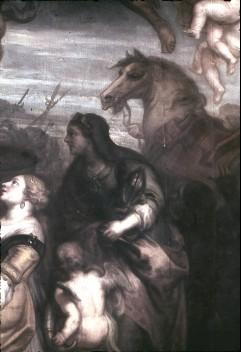 Ausschnitt: Allegorie mit Brennglas?, Aufn. Cürlis, Peter Cürlis, Peter, 1943