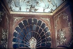 Teilansicht: verglaste Partie über den Türen der Nordwand, Aufn. Cürlis, Peter, 1943