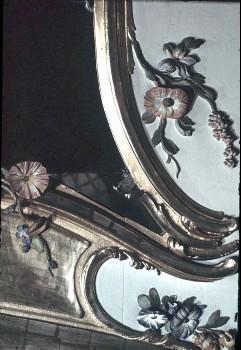 Detail: Teil des rechten Rahmens der Supraporte der Nordwand, untere Hälfte, Aufn. Cürlis, Peter, 1943