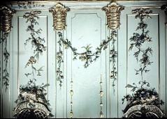 Detail: Teil der Wanddekoration an der Nordwand, über den beiden Spiegeln, Aufn. Cürlis, Peter, 1943