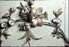 Detail: Blumengehänge der Nordwand, Aufn. Cürlis, Peter, 1943