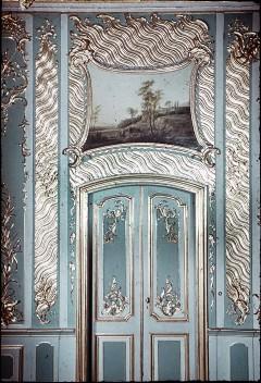 Detail: Tür der Westwand mit Supraporte, Aufn. Cürlis, Peter Cürlis, Peter, 1943