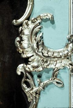 Detail des Rahmens: untere Rocaille, Aufn. Cürlis, Peter, 1943
