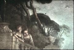 Ausschnitt: zwei Frauen oberhalb der Balustrade, Aufn. Cürlis, Peter, 1943
