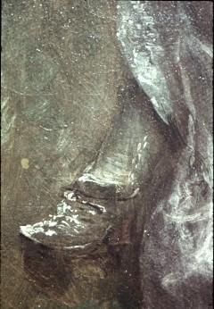 Ausschnitt: liegende Dame, Detail: Füße, Aufn. Cürlis, Peter, 1943