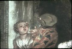 Ausschnitt: Paar hinter dem Gitarrenspieler, Teilansicht, Aufn. Cürlis, Peter, 1943