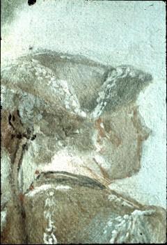 Ausschnitt: Paar im Hintergrund, Detail: Kopf des Mannes, Aufn. Cürlis, Peter, 1943