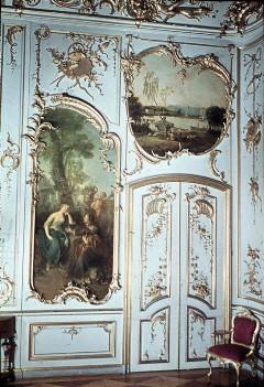 Teilansicht der Westwand mit der rechten Tür, Aufn. Cürlis, Peter, 1943/1945