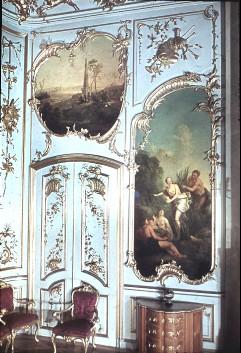 Teilansicht der Ostwand mit der linken Tür, Aufn. Cürlis, Peter, 1943/1945