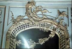 Detail: Bekrönung des linken Spiegels an der Nordwand, Aufn. Cürlis, Peter, 1943/1945