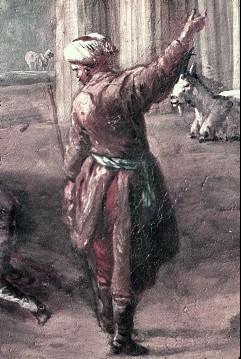 Ausschnitt: stehender Mann, Aufn. Cürlis, Peter, 1943/1945