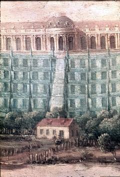 Ausschnitt: Schloß Sanssouci mit seiner Terrassenanlage, Aufn. Cürlis, Peter, 1943/1945