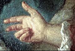 Ausschnitt: rechte Hand des Vertumnus, Aufn. Cürlis, Peter, 1943/1945