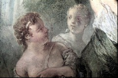 Ausschnitt: zwei Nymphen rechts neben Diana, Aufn. Cürlis, Peter, 1943/1945