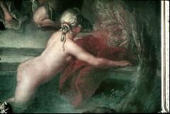 Ausschnitt: badende Nymphe, Aufn. Cürlis, Peter, 1943/1945