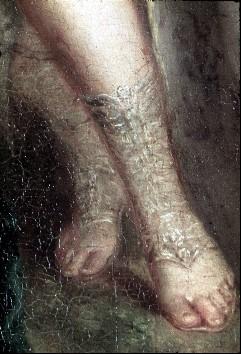 Ausschnitt: Füße der Ariadne, Aufn. Cürlis, Peter, 1943/1945