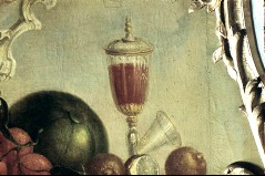 Ausschnitt: Deckelpokal aus Glas, Aufn. Cürlis, Peter, 1943/1945