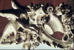 Detail, unterer Rand Mitte: Kranich und Blumenkorb, Aufn. Cürlis, Peter, 1943/1945