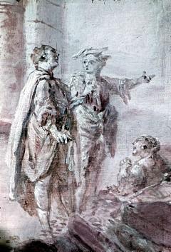 Ausschnitt: Staffagefiguren, Aufn. Cürlis, Peter, 1943/1945