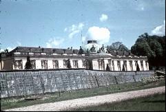 Teilansicht von Südwesten mit der obersten Terrasse, Aufn. Cürlis, Peter, 1943/1945