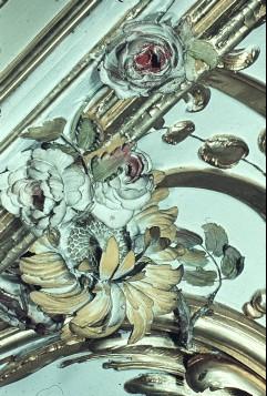 Detail: Blumen links neben der Nordwestecke, Aufn. Cürlis, Peter Cürlis, Peter, 1943