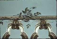 Detail: Blumen an der äußeren Deckenrahmung, oberhalb der Voute, Aufn. Cürlis, Peter Cürlis, Peter, 1943