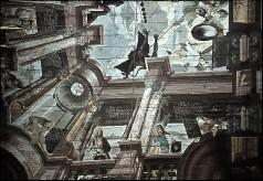Detail: Architekturzone mit Propheten, Aufn. Schulze-Marburg, Rudolf, 1943/1944