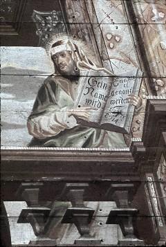Detail: Prophet Jesaja mit Schrift, Aufn. Schulze-Marburg, Rudolf, 1943/1944