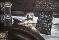 Detail: Heiliger Jacobus?, Aufn. Schulze-Marburg, Rudolf, 1943/1944