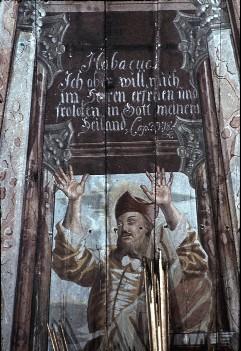 Detail: Prophet Habakuk, Aufn. Schulze-Marburg, Rudolf, 1943/1944